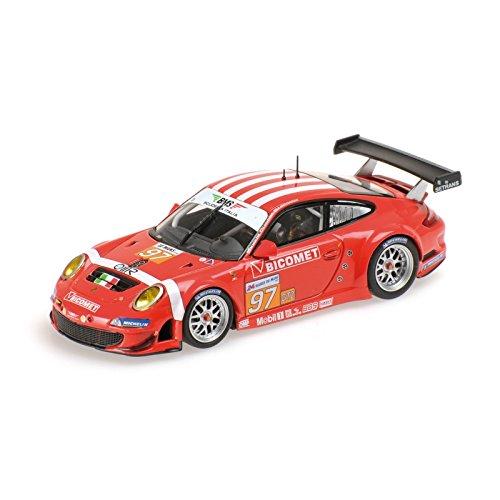 Minichamps 410106997 1:43 Scale 2011 Porsche 997 GT3 RSR 97 Le Mans Die Cast Model