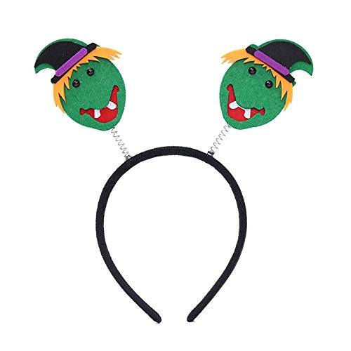 Halloween Spider Ghost Pumpkin Hair Hoop Cosplay Devil Headband - Headbands Dress up Accessories for Birthday Party Supplies and Daily Accessories - Decoration Cosplay Costume for Children (E) ()