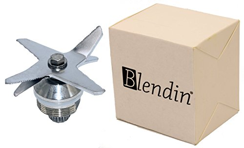 Blendin Stainless Steel Heavy Duty Wet Dry Ice 6 Blades Assembly,Compatible with Vitamix Part 1151, 1152 by BLENDIN (Image #2)