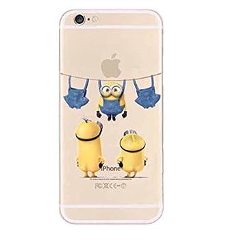 a8b2977429 【Iroha Shop】ミニオン iPhone8 iPhone7 iPhone8 Plus iPhone6s iPhone5 se スマホ アイフォン カバー  ソフト