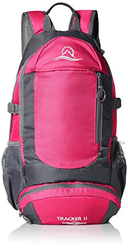 Nylon Ripstop Daypack (Lucky Bums Kid's Tracker II Backpack, Pink)