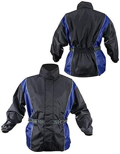 Amazon.com: xelement rn4768 Mens 2 piezas negro y azul traje ...