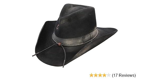 aea553657fedd Amazon.com  Charlie 1 Horse Unisex Desperado 3X Wool Western Hat  Clothing