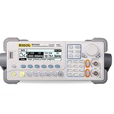 ELEOPTION DG1022U Function Arbitrary Waveform Signal Generator Frequency Generator 25Mhz