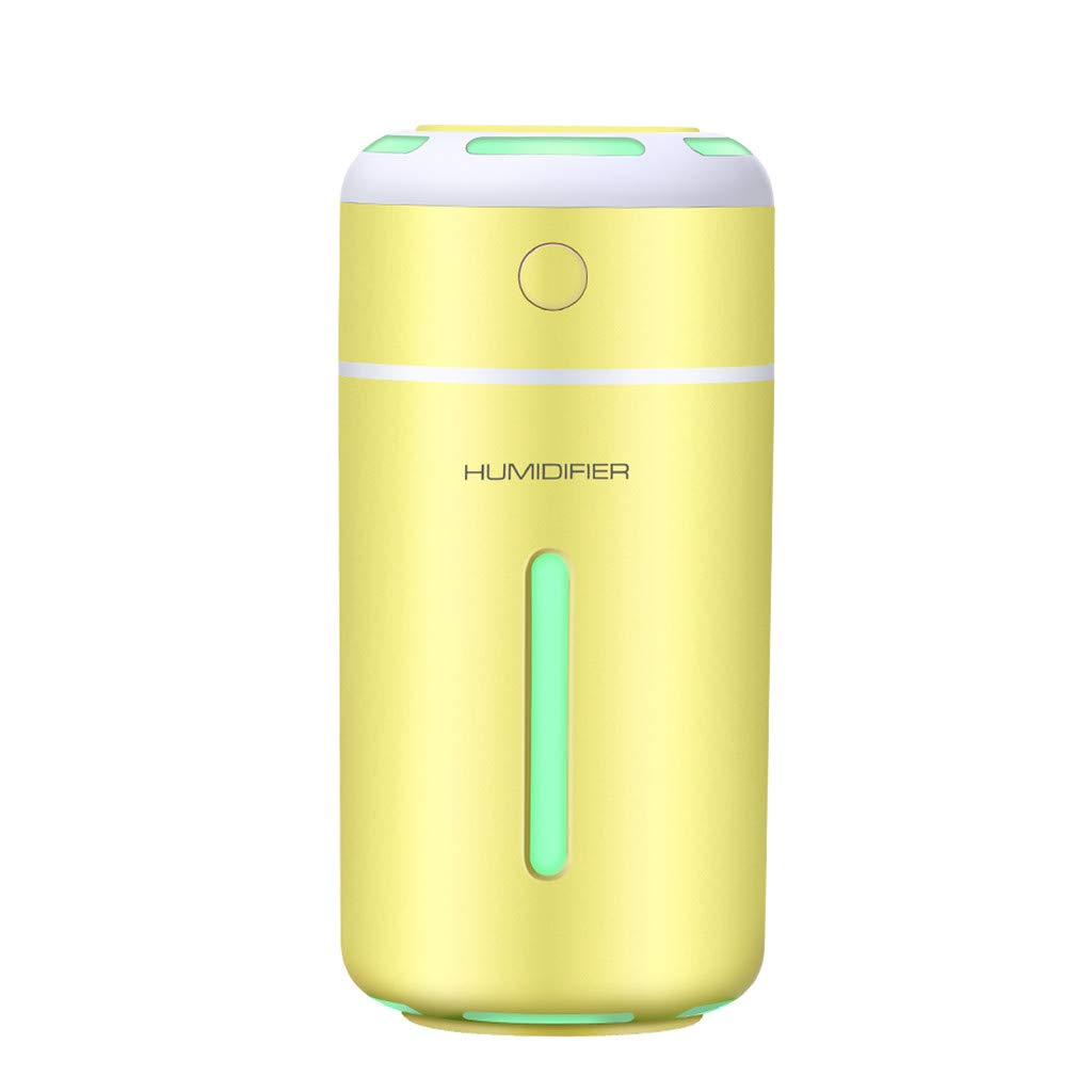 My Heat Ultrasonic Cool Mist Humidifier for Bedrooms Baby Nursery Quiet Treated Tank Surface Filter-Free