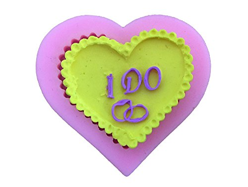 Heart Pattern Silicone Fondant Cake Chocolate Jelly Moulds B