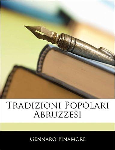 Book Tradizioni Popolari Abruzzesi (Italian Edition)
