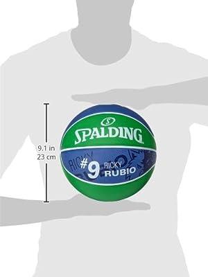 Spalding NBA Player Ricky Rubio SZ.7 (83-381Z) Balones de Baloncesto, Adultos Unisex, Verde, 7: Amazon.es: Deportes y aire libre