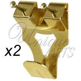 2 X Bilderrahmen Doppelt Haken Zum Aufhangen Grosse 2 Mit Pins