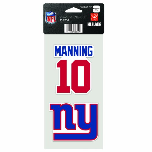 NFL New York Giants 2-Piece Die-Cut Decal, 4