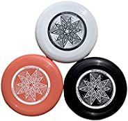 Never Landing Frisbee Flying Discs Official Size and Weight 175G for Backyard Park or Beach Package of 3…