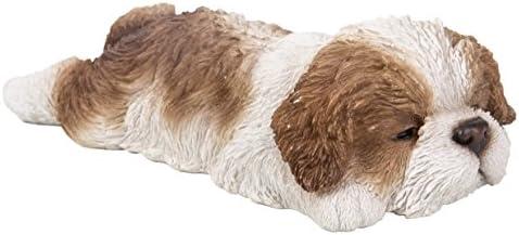 Vivid Arts-Pet Pal-Noir//Blanc Cocker Spaniel Dog Puppy-décoration de jardin