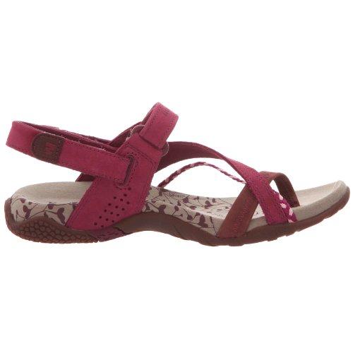 Merrell Siena/Raspberry j36520, Sandali da donna/dita dei piedi, Viola (violett (RASPBERRY)), 37
