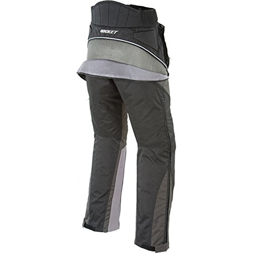 Joe Rocket Alter Ego 2.0 Men's Textile Sports Bike Racing Motorcycle Pants - Black / X-Large by Joe Rocket (Image #1)