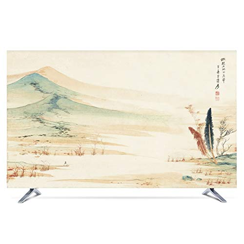 Ting Ting Tv cover New Chinese Dust-proof Protect TV Sets LCD TV Display TINGTING-protective sleeves (Color : Distant…