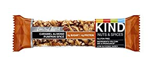 KIND Bar, Caramel Almond Pumpkin Spice, 12 Count by KIND LLC
