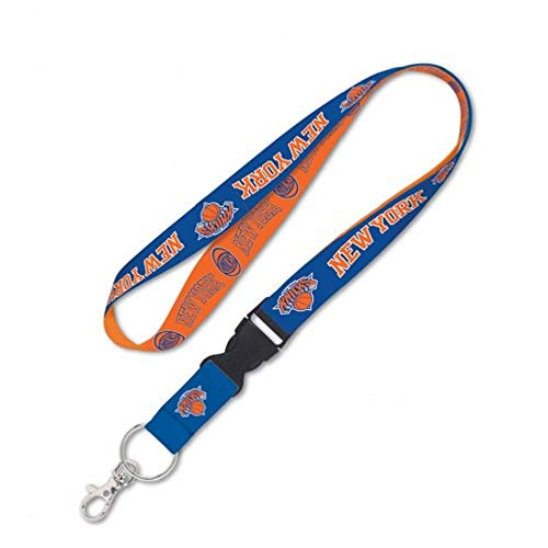 WinCraft NBA New York Knicks Lanyard with Detachable Buckle, -