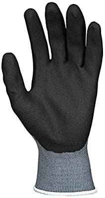 Memphis Glove 127-9699XL Ultra Tech Air Infused Glove PVC, 15 gal, X-Large, Black (Pack of 12)
