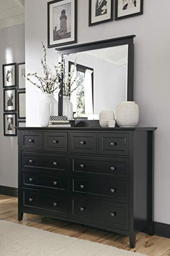 Modus Furniture 4N0282 Paragon Eight-Drawer Dresser, Black