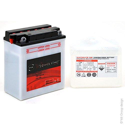 NX Motorrad Batterie NB12A-A//YB12A-A//12N12A-4A-1 12V 12Ah