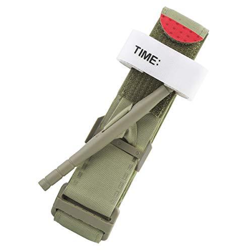 Yinuoday Outdoor Emergency Tourniquet Medical Military Tactical Emergency Tourniquet Strap First Aid Tactical Medic Life Saving Hemorrhage Control (Green)