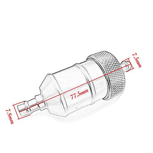 jrl fuel gas filter 125cc honda aluminum crf xr 50 70 80