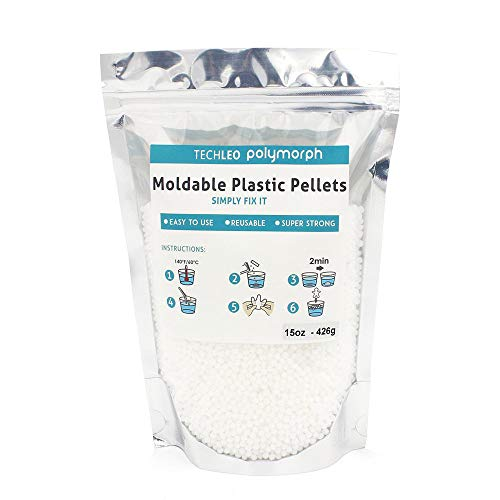 (Thermoplastic pellets Instant moldable Plastic 15 OZ)