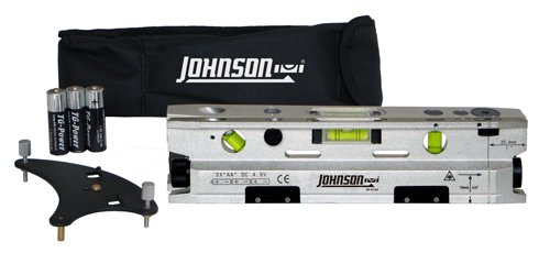 Best Johnson Level  Tool 40-6184 Three-Beam Magnetic Torpedo Laser Dot