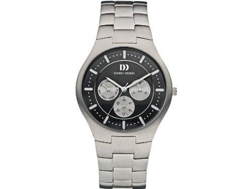 Danish Design IQ63Q952 Titanium Black Dial Mens Watch
