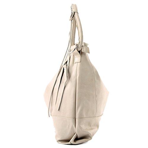 l'épaule pour Italy à femme Sac Made à Hellbeige porter w601zn6q