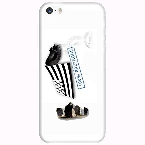 Coque Apple Iphone 5-5s-SE - 100% Bretagne