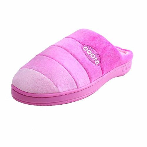 Pantofole Unisex Di William & Kate - Pantofole Casa Per Donna / Uomo Soft Coral Pile Memory Foam Scarpe Indoor / Outdoor Rosa