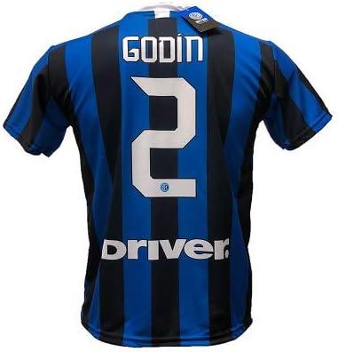 DND D'Andulfo CIRO - Camiseta de fútbol Inter Godin 2 réplica autorizada 2019-2020 tallas para niño y adulto