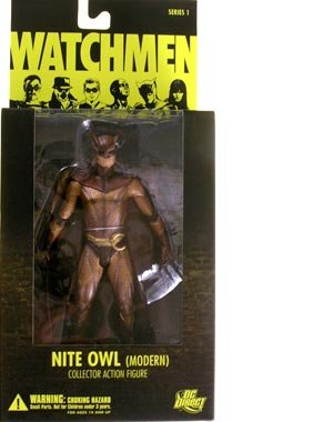 [DC Comics Watchmen Movie Nite Owl Modern Action Figure] (The Watchmen Silk Spectre Costume)