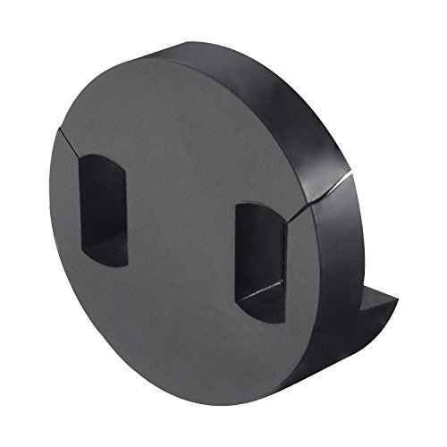 Canomo 1 Pack Tourte Style Cello Mute Round Two Hole Mute, Black by canomo (Image #3)