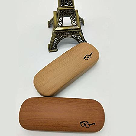 Nikgic Mode piel Calidad Madera alta calidad plegable Vasos Caja multiusos de antiara/ñazos staubdicht vasos Box