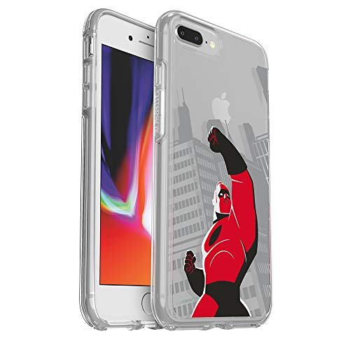 OtterBox Symmetry Clear Series Disney • Pixar Case Incredibles 2 for iPhone 8 Plus & iPhone 7 Plus (ONLY) - Retail Packaging - Mr. Incredible