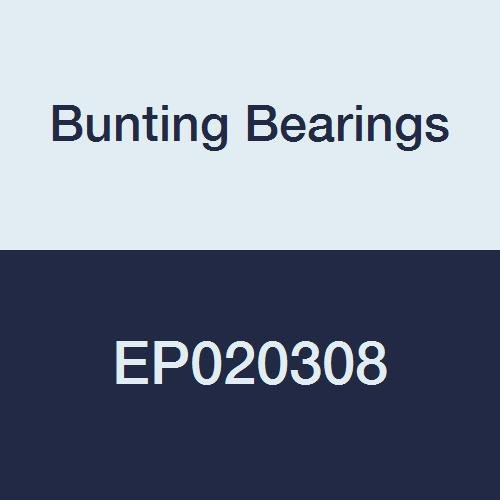 """Bunting Bearings EP020308 Sleeve Bearing Powdered Metal SAE 841 1//8/""""x3//16/""""x1//2/""""L"""
