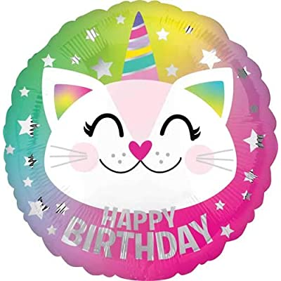 "Anagram 18"" Birthday Caticorn HX: Toys & Games"