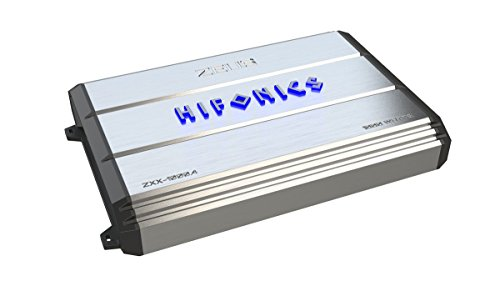 Hifonics ZXX-1000.4 Zeus 4 Channel Bridgeable Amplifier, Silver, 18.40in. x 11.70in. x 3.50in.