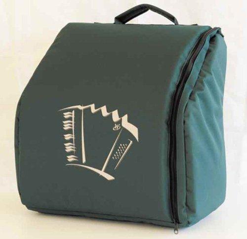 Rucksack für Weltmeister Pianoakkordeon 34/72 bis 34/80 Achat/Opal, Knopfakkordeon 60/72/III, 70/96/III, grün