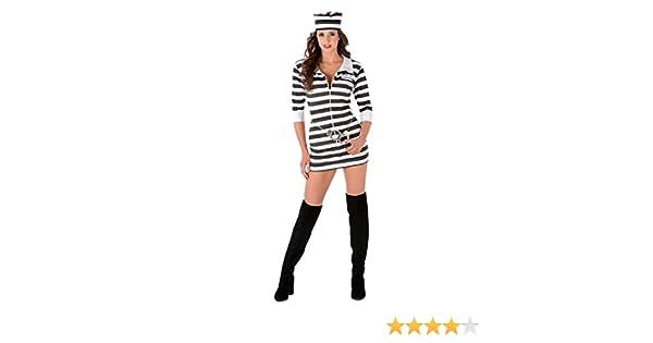Generique - Disfraz de prisionera Mujer M: Amazon.es: Juguetes y ...