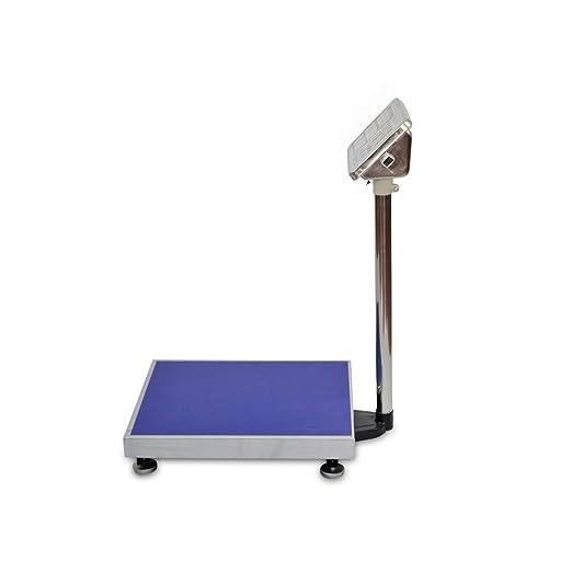 Bascula Industrial De Plataforma 300Kg Balanza Plataforma de 40x50Cm Peso: Amazon.es: Bricolaje y herramientas