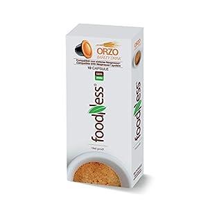 Foodness Capsula Orzo solubile compatibile Nespresso - 5 Confezioni da 10 Capsule [Tot. 50 Capsule]