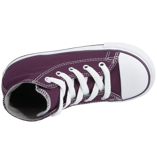 Converse - Zapatillas de gimnasia, infantil Tyrian Purple