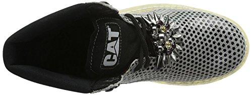 Cat Footwear Colorado Chic - Botas Track Mujer Plateado / Negro