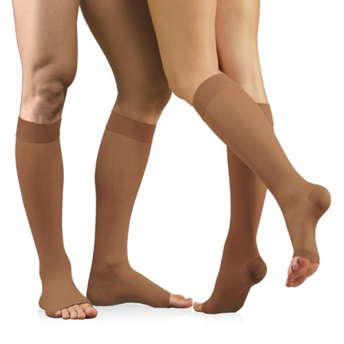 23 32 Mmhg Medical Compression Socks With Open Toe Firm