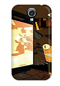Hot Snap-on My Neighbor Totoro Anime Other Hard Cover Case/ Protective Case For Galaxy S4