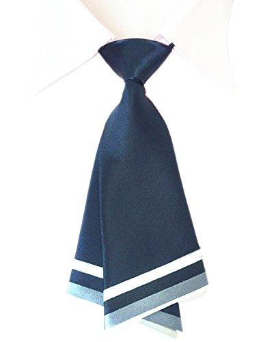 Patiky Bowtie for Men Women Adjustable Pre Tied Ties Sailor Neck Tie Accessories Tie02 (Navy)