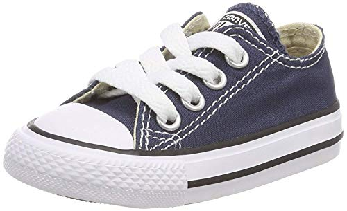 Converse Chuck Taylor Allstar OX Little Kids Shoes Navy 3j237 (2.5 M US)